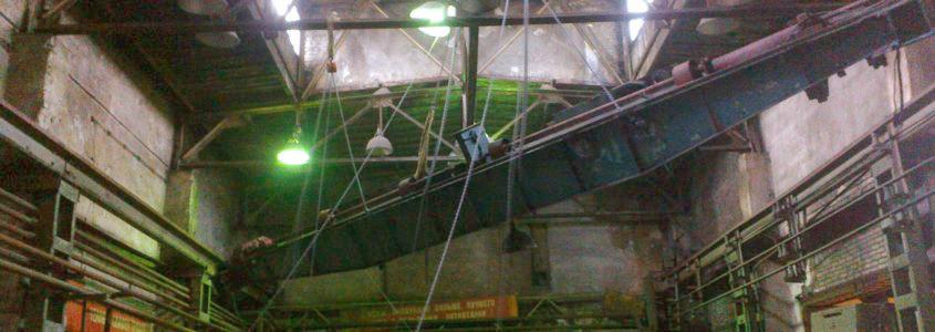 демонтаж мостового крана опорного типа