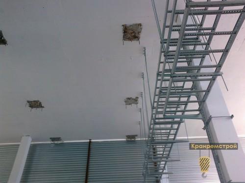 площадки для закладных в потолке