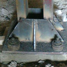 Монтаж наземного кранового пути подвесного крана