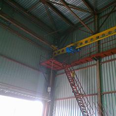 Монтаж площадок обслуживания кранов г. Наро-Фоминск